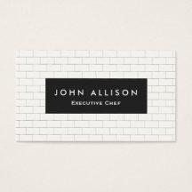 Culinary business cards templates zazzle colourmoves