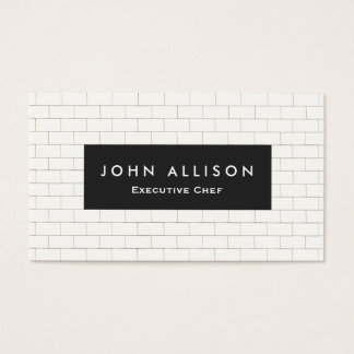 Catering business cards templates zazzle for Tiler business card