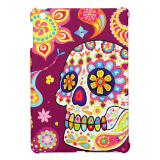 Cool Sugar Skull Art iPad Mini Case