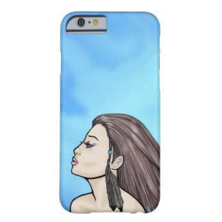 Cool Summer Breeze Girl Barely There iPhone 6 Case
