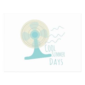 Cool Summer Days Postcard