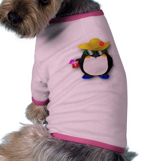 Cool Summer Penguin Pet Tshirt