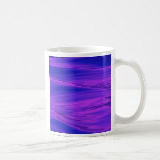 Cool Summer Purple Pink Water Ripples Coffee Mug