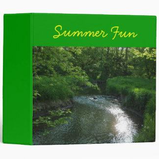 Cool Summer Stream Binder