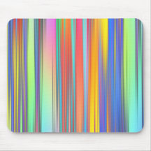 Cool Summer Stripes Mouse Pad