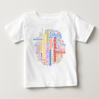 Cool summer text art baby T-Shirt