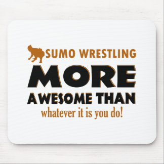 Cool Sumo Wrestling designs Mouse Pad