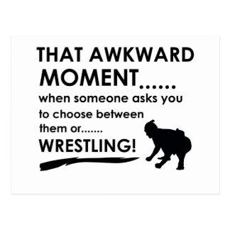 Cool Sumo Wrestling designs Postcard