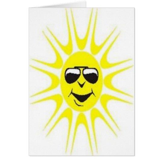 cool sun card