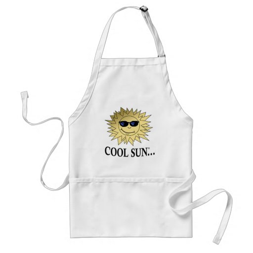 Cool Sun Cooking Adult Apron