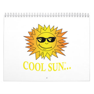 Cool Sun Inspired Calendar
