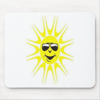 cool sun mouse pad