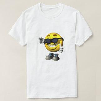 Cool Sun Smiley Face  T Shirt