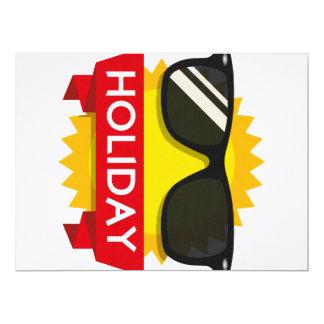 Cool sunglass sun card