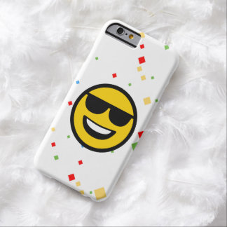 Cool Sunglasses Emoji Barely There iPhone 6 Case