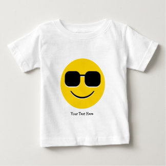 Cool Sunglasses Emoji (customizable) Baby T-Shirt