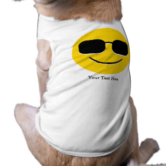 Cool Sunglasses Emoji (customizable) Tee