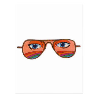 Cool Sunglasses Eyes 1 Postcard