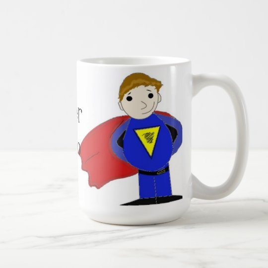 Cool Super Hero Coffee Mug