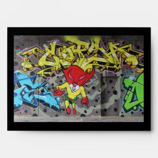 Cool Superbunny Graffiti Envelope