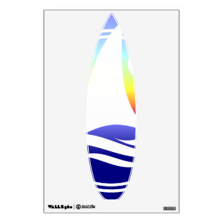 Cool Surfboard Decals Room Decal
