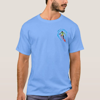 Cool Surfer -  Crazy Indian Fish T-Shirt