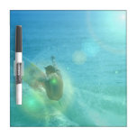 Cool Surfer Dry Erase Board
