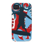 Cool Surfer Dude Surfing Beach Ocean Wave Surf Vibe iPhone 4 Cover