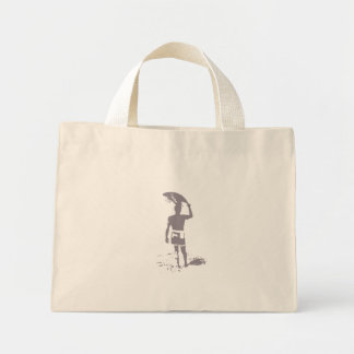 Cool Surfer For Your Shopping Mini Tote Bag