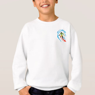 Cool Surfer -  Hippie Fish Sweatshirt