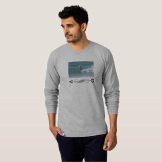 Cool Surfer Wave Tee for men