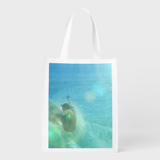 Cool Surfer Grocery Bags
