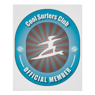 Cool Surfers Club Print
