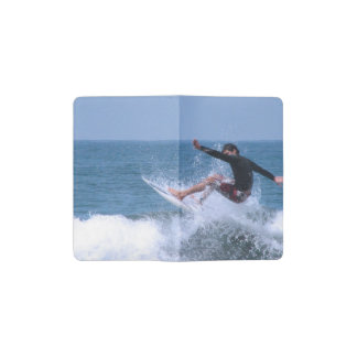 Cool Surfing Pocket Moleskine Notebook Cover With Notebook