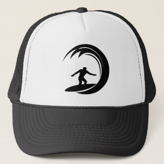 Cool Surfing Trucker Hat
