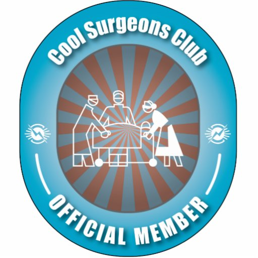 Cool Surgeons Club Photo Cut Out