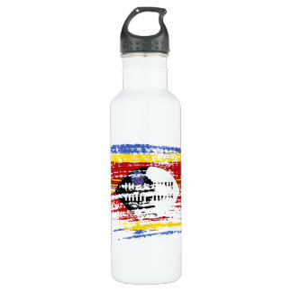 Cool Swazi flag design Stainless Steel Water Bottle