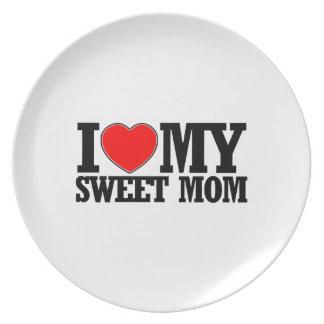 cool Sweet  mom designs Dinner Plate