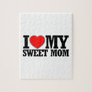 cool Sweet  mom designs Jigsaw Puzzle