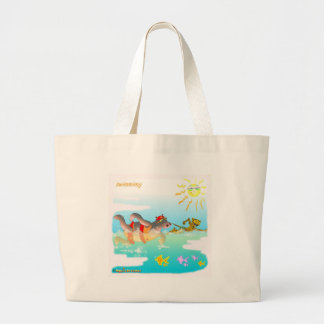 Cool swiiming gifts for kids canvas bags