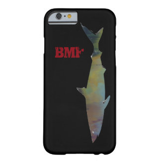 cool swimming shark personalized barely there iPhone 6 case