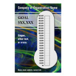 Cool Swirls for your Goals Poster