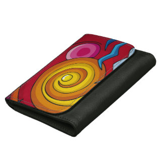 Cool Swirls of Colors Wallet
