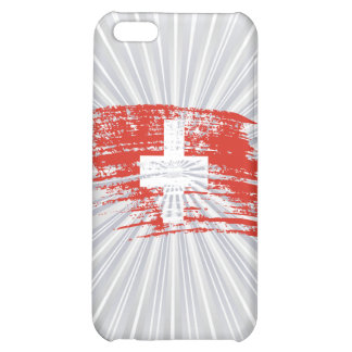 Cool Swiss flag design Case For iPhone 5C