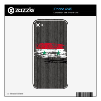 Cool Syrian flag design iPhone 4S Decal