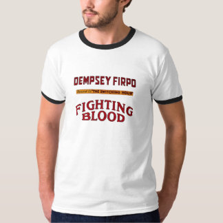 Cool T-shirt with boxing print