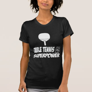 Cool table tennis designs t shirt