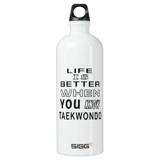 Cool Taekwondo Designs SIGG Traveler 1.0L Water Bottle