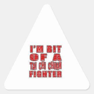 Cool Tai Chi Chuan Designs Triangle Sticker