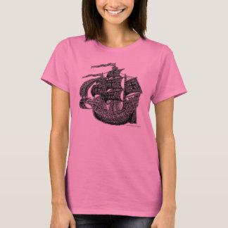 Cool tall sailing ship shirt design